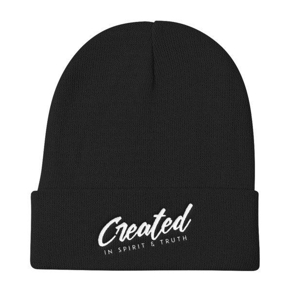 """""""Created"""" Knit Beanie"""