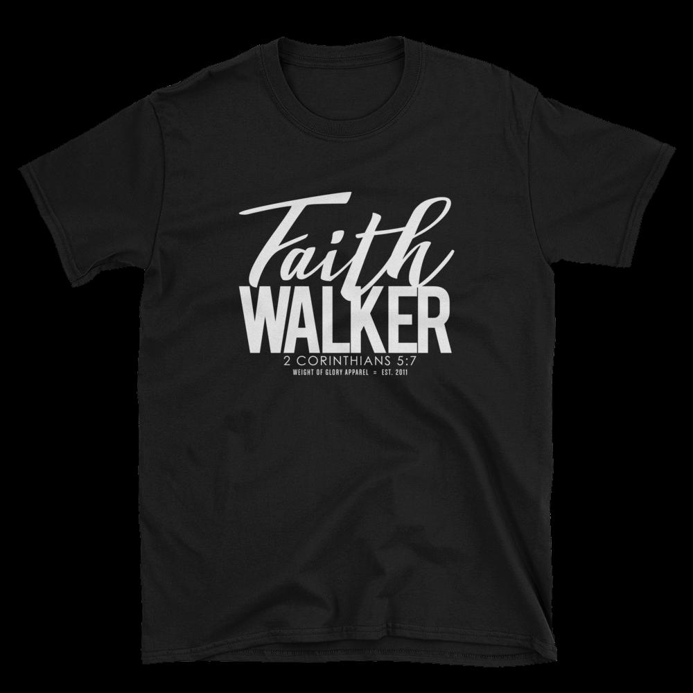 Faith Walker Unisex Fit - White Print