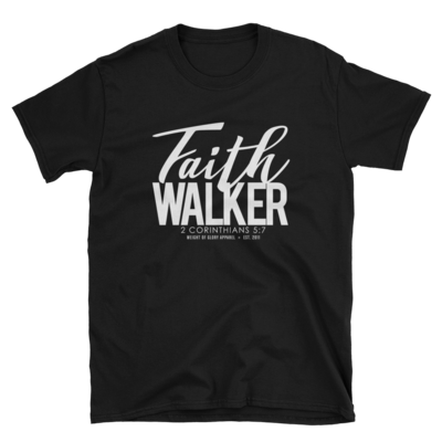 Faith Walker Unisex Fit - White Print