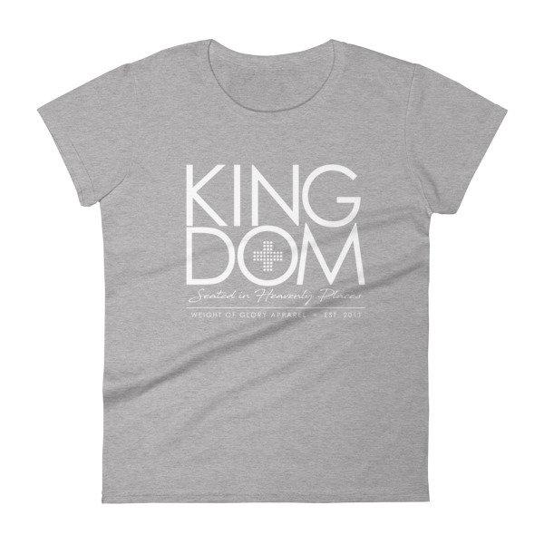 """""""Kingdom"""" Ladies short sleeve t-shirt"""