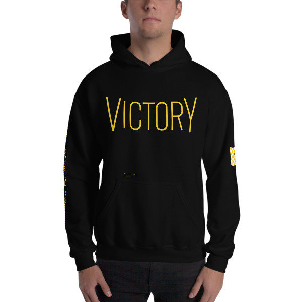 """Special Edition """"Victory"""" Left and Right Sleeve Print - Hoodie"""