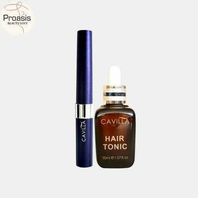 Cavilla Eyelash Essence + Hair Tonic (Bundle Promo)
