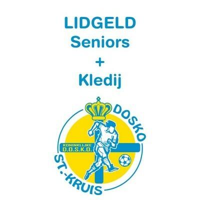 Lidgeld Seniors + inbegrepen trainingspak en polo