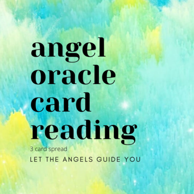 Angel Oracle Card Reading (3 Card Spread)