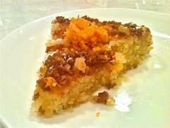 LUCYS SICILIAN ORANGE POLENTA CAKE