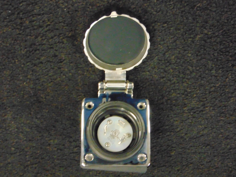 30 Amp Stainless Steel Shore Power Inlet
