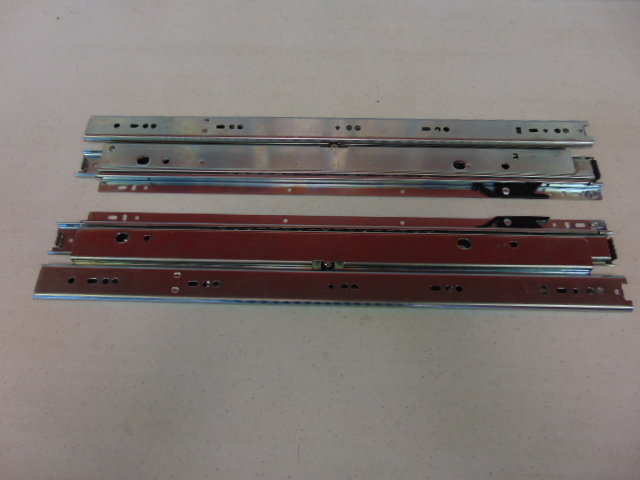 """Double Drawer Guide 22"""" 150 LB (PAIR)"""