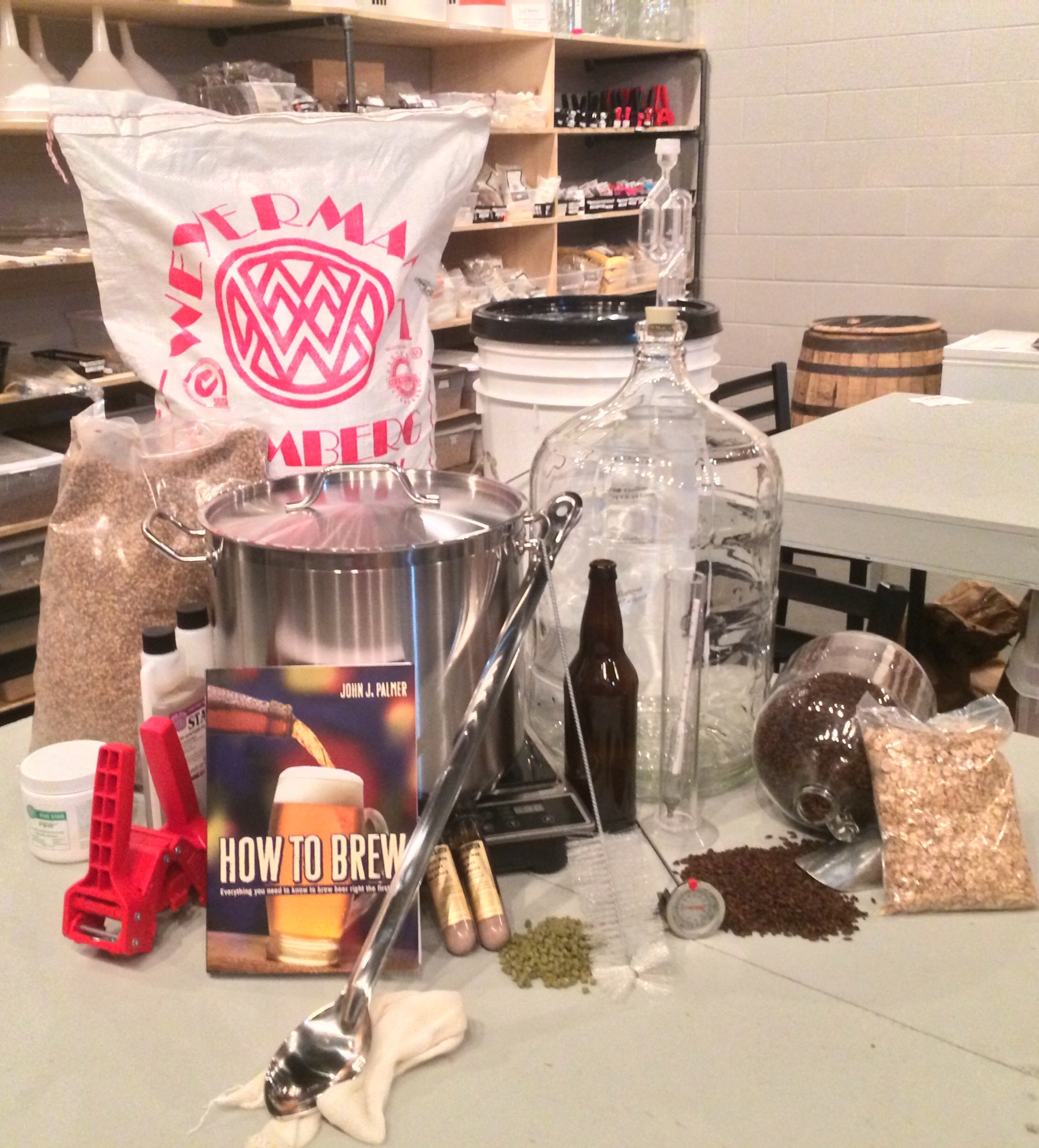 Home Brewing 101 Wednesday,  January 20th at 6pm 00010