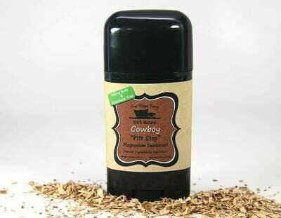 <strong>Cowboy <br> Magnesium Deodorant</strong><br>Natural Ingredients that Work!