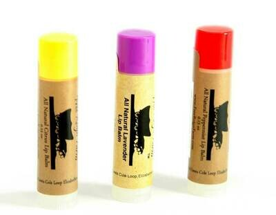 <strong>Natural Lip Balm </strong><br> Pure Moisture...No Chemicals