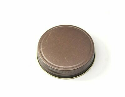 <strong>Rustic Antiqued Mason Jar Lid</strong>