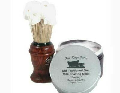 <strong>Goat Milk Shaving Soap  </strong><br> Amazing Lather: See Video