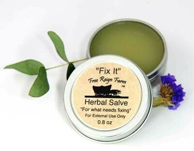 <strong>Fix It Herbal Salve</strong><br>