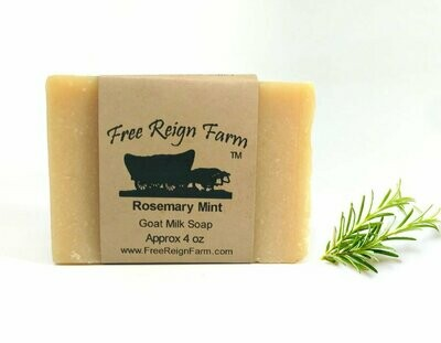 <strong>Rosemary & Mint </strong><br>Goat Milk Soap