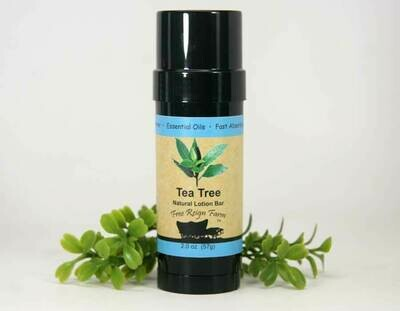 <strong>Tea Tree Lotion 2oz </strong><br> Solid Lotion Bar