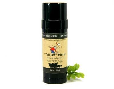 <strong>'Tail Off' Lotion 2oz </strong><br> Solid Lotion Bar
