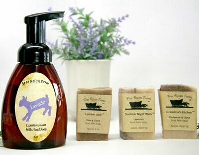 <strong>Goat Milk Soap Bundle</strong><br>4 Soaps & Free Shipping!