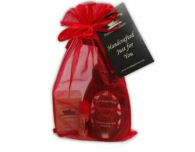 <strong>Peppermint Gift Set </strong><br> Perfect Gift for Christmas