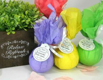 <strong>Natural Bath Bombs! </strong><br> Relaxing moisture for the Bath...