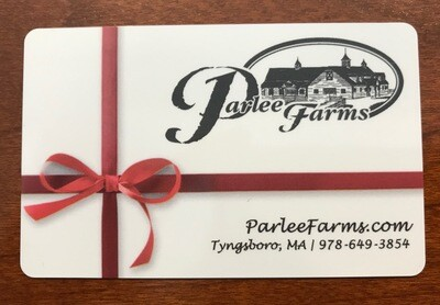 Parlee Farms Gift Card