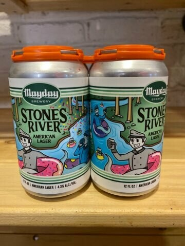 Stones River Lager 6pack 4.3%ABV