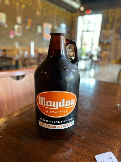 REFILL- 64 oz. Specialty/Seasonal Beer Jug (Growler)