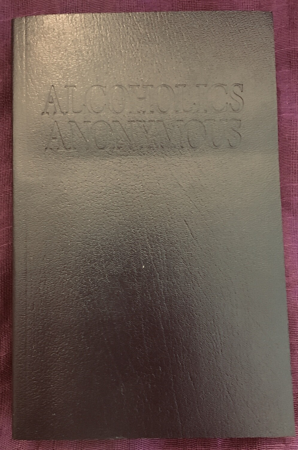 Alcoholics Anonymous Big Book Fourth Edition