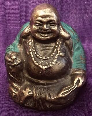 Brass Happy Buddha Statue