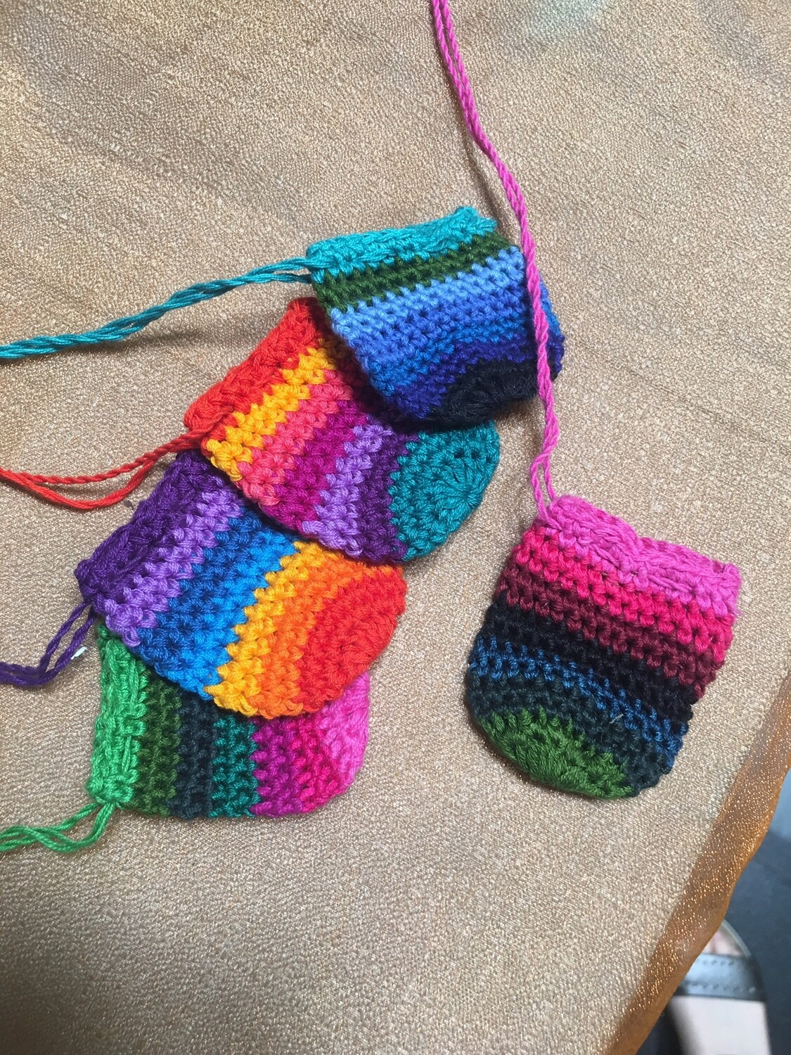 Small Rainbow Pouch