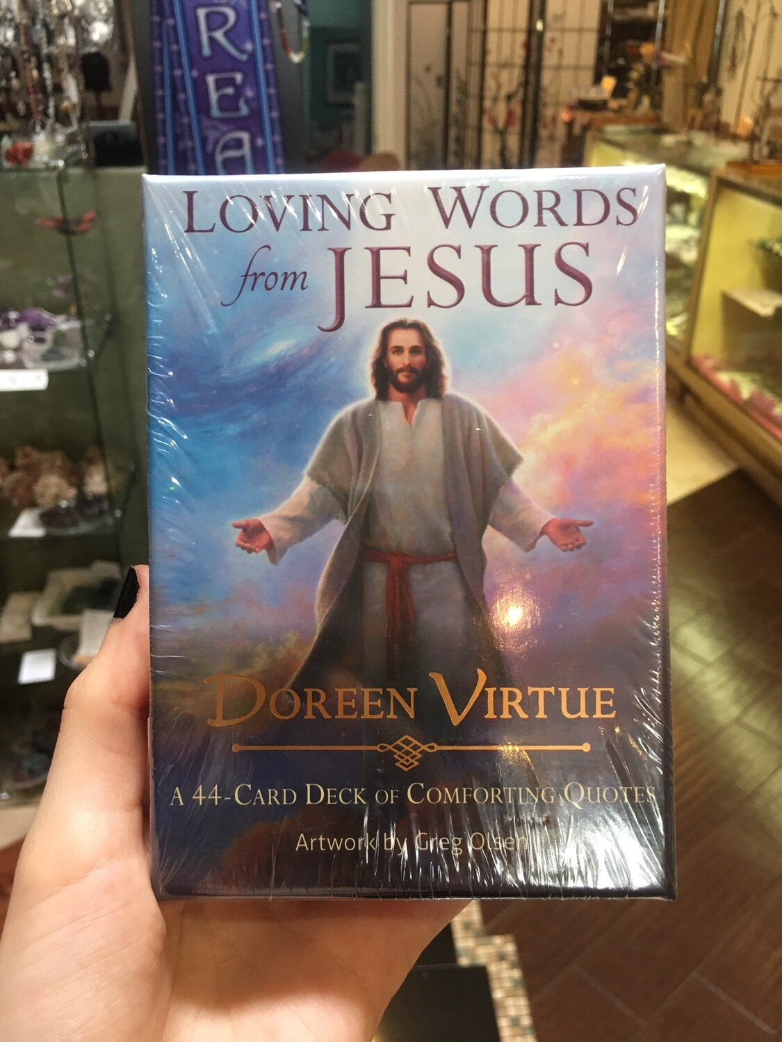 Loving Words from Jesus Card Deck