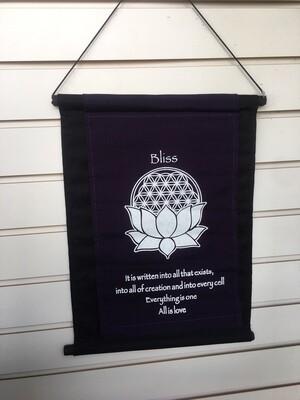 Bliss Cloth Banner