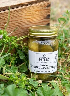 Mojo Garlic Dill Pickles