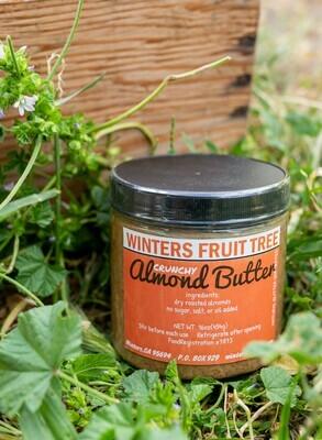Almond Butter Crunchy 16 oz