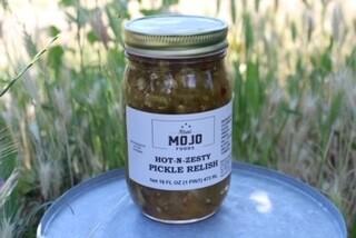 Mojo Hot-n-zesty Pickle Relish(sweet)