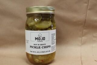 Mojo Hot N Zesty Pickle Chips(sweet)