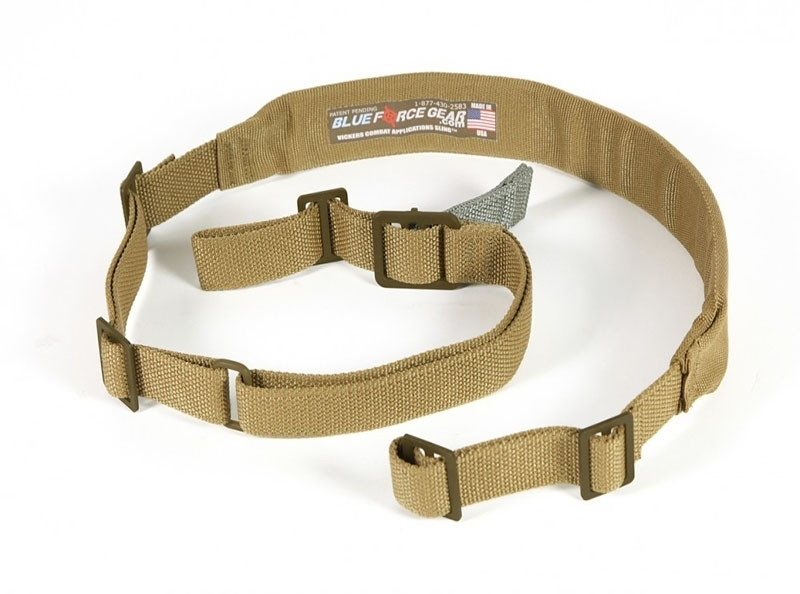Padded Vickers Combat Sling - Coyote Brown