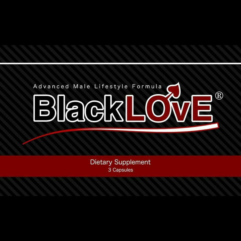BlackLove Male Dietary Supplements (3 Pack)