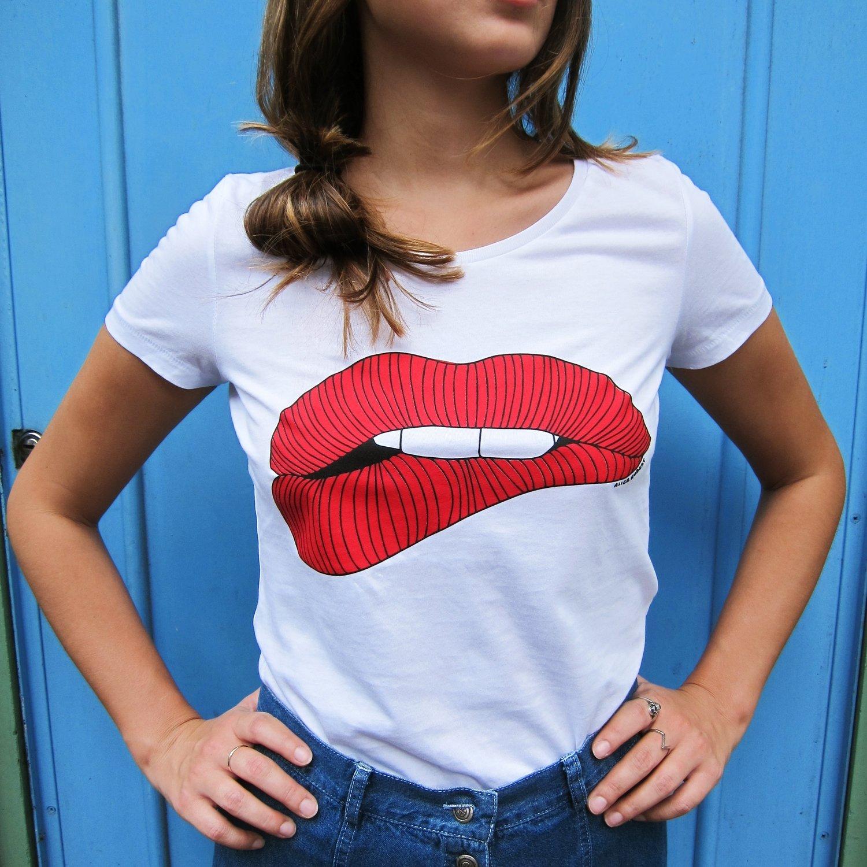 Tee-shirt Mmmh! - modèle femme