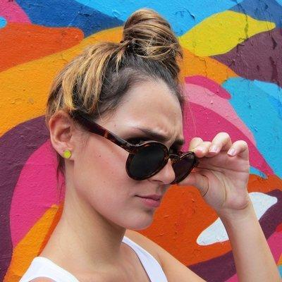 Boucles d'oreilles Mimosa - petit modèle