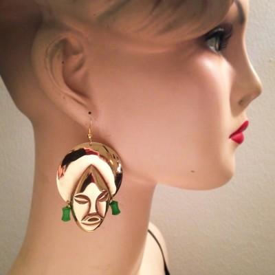 Boucles d'oreille Remenber     Perles