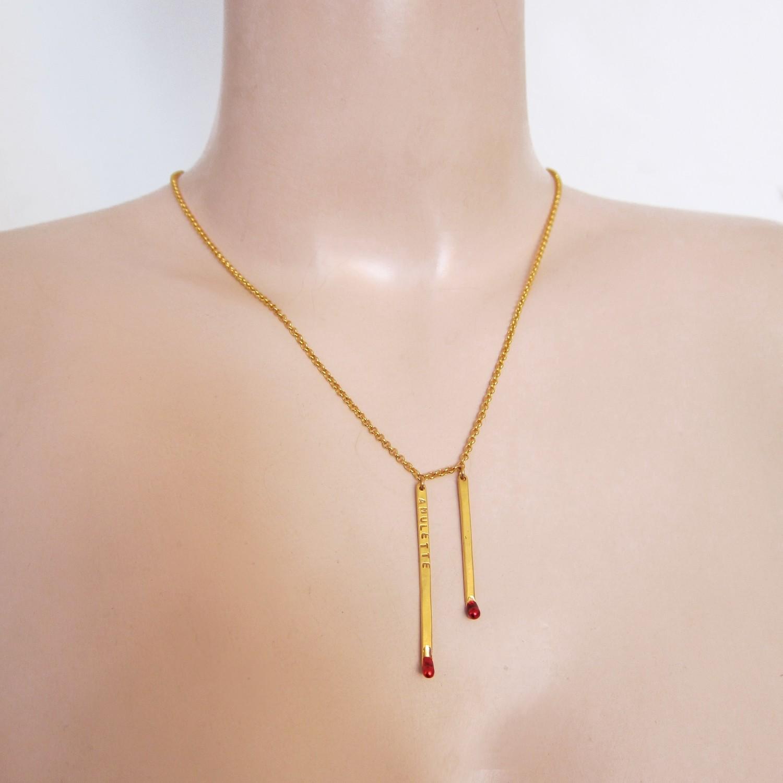 Collier Double Amulettes