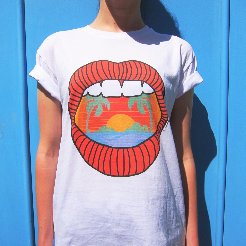 Tee-shirt Haiwaï - modèle mixte