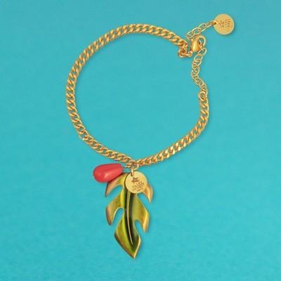 Bracelet Petite Feuille