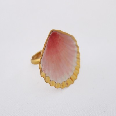 Bague Coquillage Ouvert