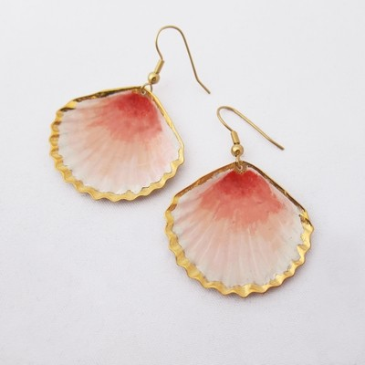 Boucles d'oreille Coquillage