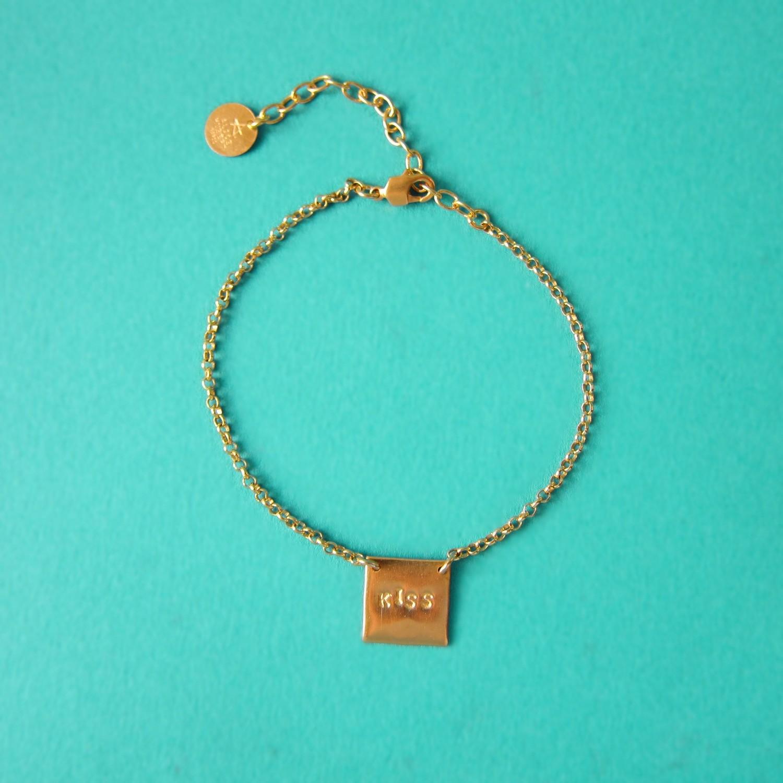 Bracelet Kiss - Or