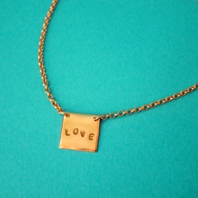 Collier Love - Or