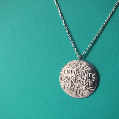 Collier Médaille - Argent