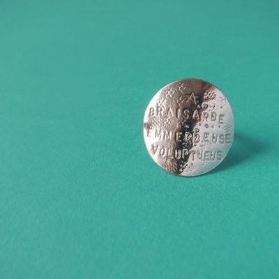 Bague Médaille - Argent