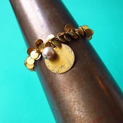 Bracelet Paillettes Simple